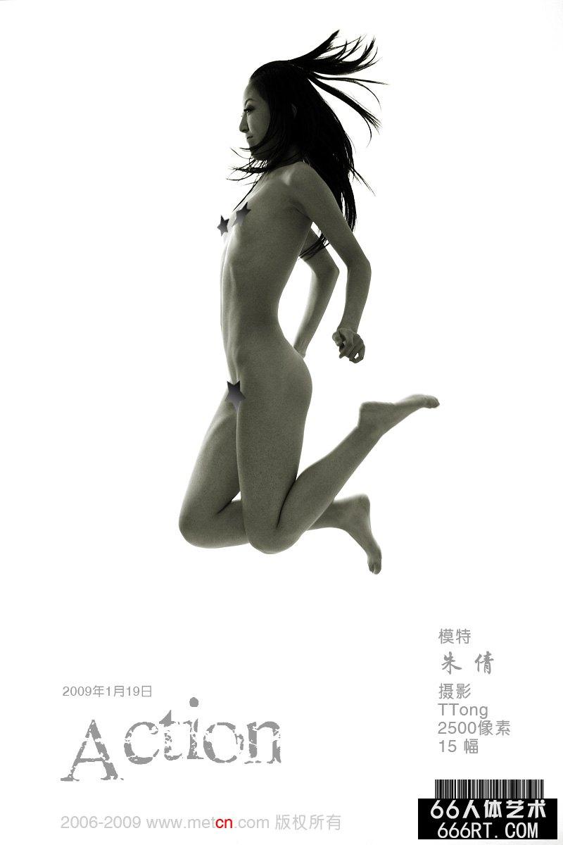 TBA泰国精品人体写真_《Action》美模朱倩09年2月1日室拍